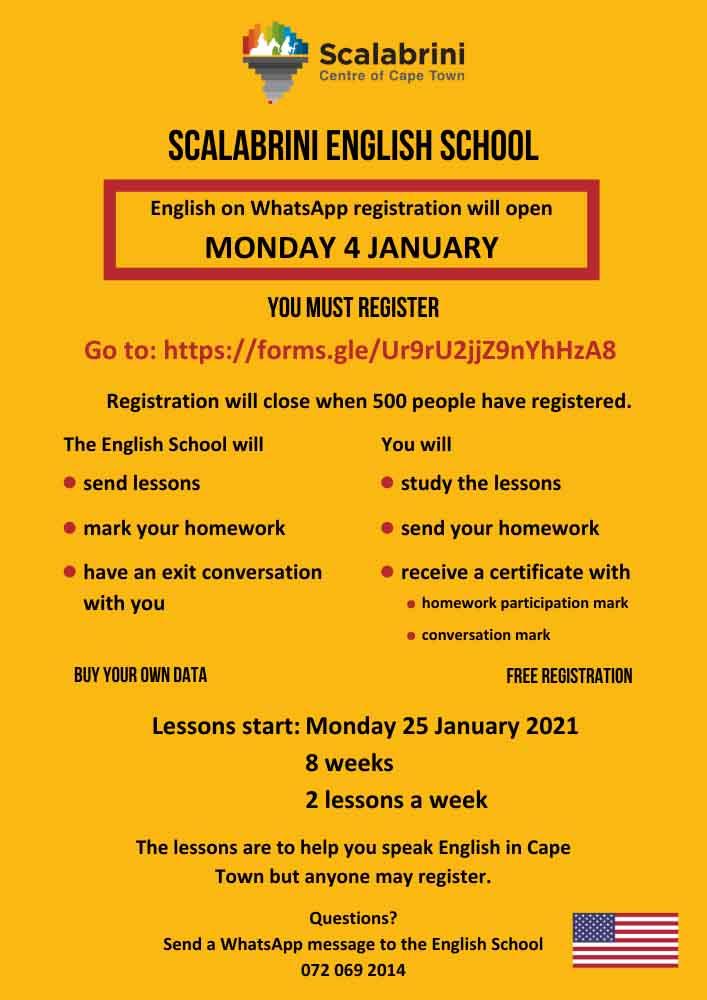english school registration